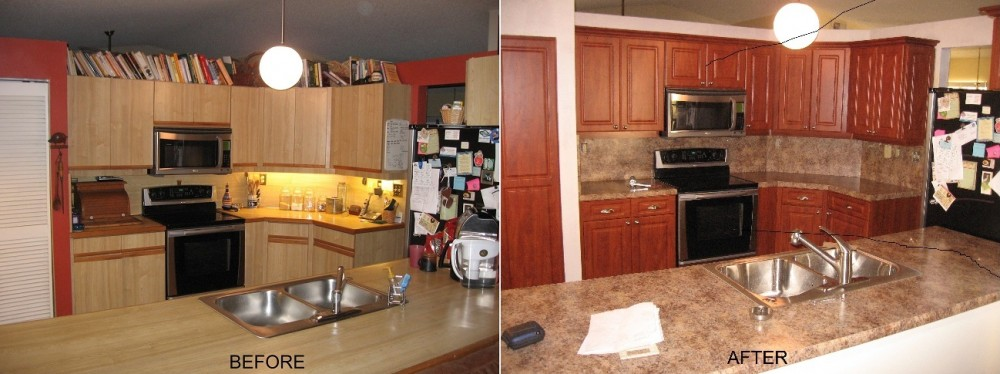 Kitchen Refacing Specialist 954 494 1130 Make Your Old